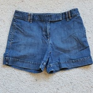 Ann Taylor Denim Jean Shorts